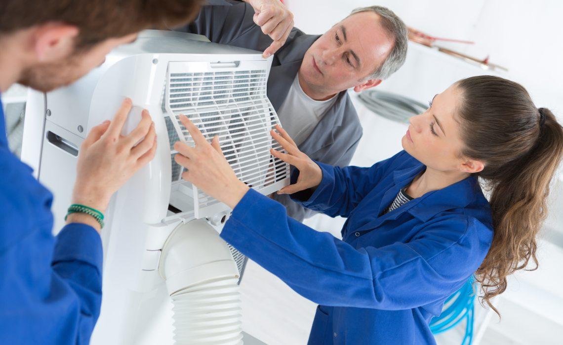 manutenção do ar condicionado aumenta a vida útil do equipamento