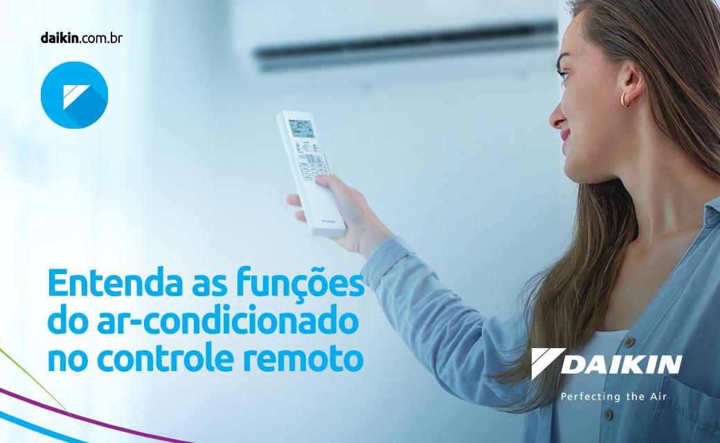 Entenda as funções do ar-condicionado no controle remoto