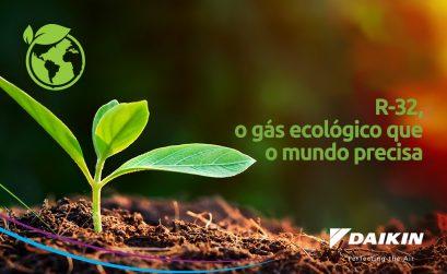 R-32, gás ecológico com menor impacto ambiental